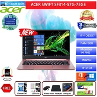 Acer Swift SF314-57G-75GE/i7-1065G7/8GB/512GB SSD/MX250/14 FHD/Win10/3Y/Pink/BY NOTEBOOK STORE