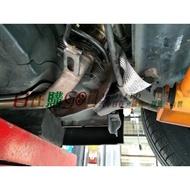 示範車種FIT 搭鐵線 鍍錫編織帶 負極接地線 排氣管 靜電 尾段 中段 頭段 排氣管接地線