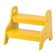 IKEA TROGEN 兒童墊腳凳, 黃色