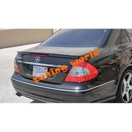Mercedes Benz w211 E系列 鴨尾 尾翼 AMG款 CARBON 碳纖維