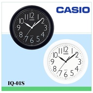Casio Wall Clock Home Essential Classic Big Digital Generous Line Round Clock 25 X 25 cm