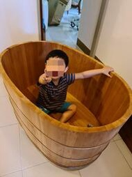 全新台灣檜木(舊料)澡盆