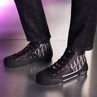 DIOR 黑色B23老花高筒鞋 尺寸39 39.5 40 40.5 41 41.5 42 42.5 折扣💜