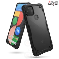 【Ringke】Rearth Google Pixel 4a 5G [Fusion X] 透明背蓋防撞手機殼
