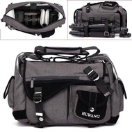 DSLR Camera Canvas Shoulder Bag Travel Tripod Carrying Bags for Canon Nikon