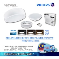 PHILIPS MESON LED SURFACE DOWNLIGHT 59472 17W 7''