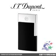 S.T. Dupont 法國都彭頂級打火機 E-Slim 超薄USB充電式打火機 / 黑武士 / 27004 【詮國】