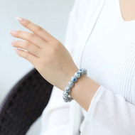 礦石 水晶 手鍊 藍銅礦 花崗岩 黑雲母