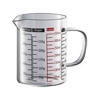 🌟現貨附發票🌟Tiamo 玻璃量杯 350ml 500ml HG2189 HG2190 刻度量杯 咖啡量杯 把手量杯
