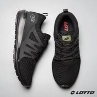 北台灣大聯盟~LOTTO樂得-義大利第一品牌 男款CITYRIDE 潮流跑鞋 [5910] 黑特賣690元