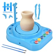 Clay Pottery Wheel Craft Kit Ceramic Machine Without Clay for Kids and Beginners