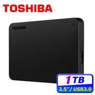 【現貨】東芝 Toshiba Canvio Basics 黑靚潮lll 1TB 2TB 4TB 2.5吋行動硬碟