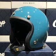 任我行騎士部品 Gallop 復古帽 3/4 半罩 DOT 雙D扣 gogoro 偉士牌 日系 鴨母藍