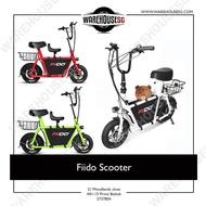 PREORDER Fiido Q1 36V 10.4Ah Scooter (UL2272) Escooter/DYU/TEMPO