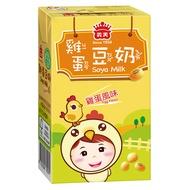 義美 雞蛋豆奶 250ml(24入/箱)