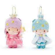 【積文館】絨毛娃娃吊飾 日本進口 雙子星 KiKiLaLa 對娃(9*12cm)