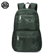 BAC01 GY綠色 NR14吋韓版經典迷彩休閒電腦後背包