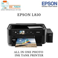 [$10 NTUC E-VOUCHER REDEEM] Epson L850 Photo All-in-One Ink Tank Printer 850