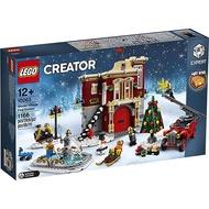 LEGO 樂高 10263 冬季消防局 Creator 創意大師系列 < JOYBUS >