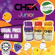 CHEK Junior - Long Lasting Soothing Chewy Gummy 50g X 1 Bottle - Fruity Chewy Gummy Candy / Candies / Sweets