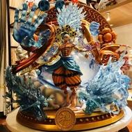 【童年往事】黑珍珠 海賊王GK手辦 TFTOYS金色特別版配色 雷神 艾尼路模型雕像