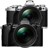 OLYMPUS OM-D E-M5 Mark II + 12-40mm (公司貨)-加送128G記憶卡+原廠電池+快門線+保護鏡+大吹球清潔組+專用拭鏡筆+單眼專用皮質手腕帶+專用相機包