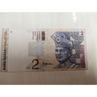 Ringgit Malaysia Currency Sales ( gabenor signature for RM2)