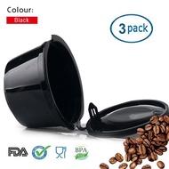เติมดอลซ์กัสโตแคปซูลกาแฟ Crema กรองสแตนเลส Dripper เติมถาวรสำหรับชุดทำกาแฟดอลซ์กัสโตเครื่อง