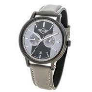 【MINI Swiss Watches】Cooper設計 兩眼腕錶(43.5mm/MINI-160636)