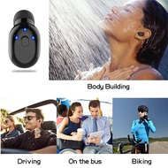 Sports Bluetooth Earphone Earbud Stereo Headset Headphone In-Ear Portable Carrying Case Wireless Wat