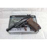UMAREX P38 魯格 4吋 CO2槍 ( BB槍BB彈手槍CO2槍短槍模型槍直壓槍LUGER P-08德國軍官二戰