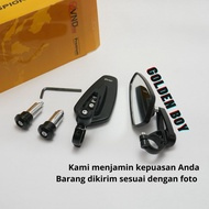 Rearview Mirror Oval Vnd (Bar End Mirror)
