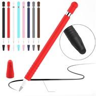 1PC Multicolor ซิลิโคน Nib ปกคลุมผิวป้องกันแขน Tip สำหรับ Apple Pencil iPad Pro mini อุปกรณ์เสริม
