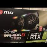 RTX 2070 super Msi gaming x trio