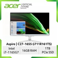 """[BRAND NEW][3 YEAR WARRANTY][All in One] Acer Aspire C 27"""" / i7-1165G7 / Windows 10 Home / 16GB / 1TB / NVIDIA GeForce"""