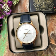 🌹Fossil FS5371 The Minimalist White Dial Men's Leather Watch
