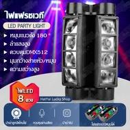 Hatyai Lucky Shop ไฟเวที,ไฟปาร์ตี้,ไฟแฟลชเวที 40 วัตต์ ,ไฟเวที, ไฟเวทีแปดตา, ไฟแฟลช KTV แฟลช LEDไฟปาร์ตี้กระพริบ Light ไฟหัวเลเซอร์ ไฟเลเซอร์, ไฟกระพริบปาตี้, ไฟเทค ปาร์ตี้, ไฟดิสโก้ในผับ สามารถใช้ได้โดยไม่ต้องใช้คอนโซลจัดส่งในวันเดียวกัน