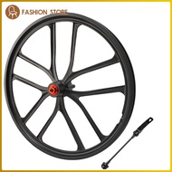 Ultralight 20\'\' Folding Bike Wheelset High Strength 20inch 1.5~2.125 Disc Brake Mountain Bicycle Front/Rear Wheel 6 Hole Hub Wheels