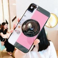 Phone Case OPPO R15 R15 Pro Dream version R9 S R11 Plus Tempered glass Camera Airbag Stand Cover