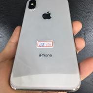 iPhone X 256銀 二手