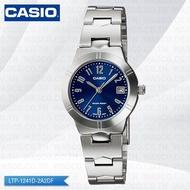 CASIO นาฬิกาข้อมือ รุ่น LTP-1241D-2A2DF สายสแตนเลส