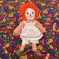 慢寓 | 中古 安娜貝爾 Annabelle Raggedy Ann & Andy 安和安迪 絕版 布娃娃 (厲陰宅)
