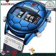 🔥100% [2021 Original Kademan] Leather Strap Jam Lelaki Men Watch Man Watch Man Watches Men Watches Ready Stock