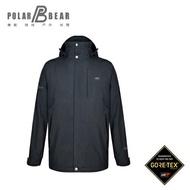 【POLAR BEAR】男GORE-TEX 2合1鴨絨羽絨外套(700FP)