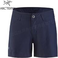 Arcteryx 始祖鳥 Creston 登山短褲/休閒短褲/快乾透氣 女款 23015 夜月藍