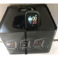 全新 方盒 SERDINE 沙丁魚 GT1 方形智能手錶 智慧手錶 黑螢光綠色 藍芽 藍牙 方盒 心率 運動 睡眠