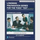 Longman Preparation Series for the TOEIC Test: Intermediate Course, 6/E W/MP3,AnswerKey