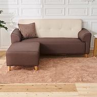 時尚屋 布萊茲L型雙色透氣貓抓皮沙發 (共3色)