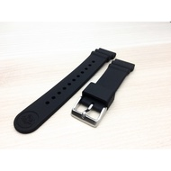 seiko(純正原廠)鮪魚罐頭適用的原廠矽膠錶帶