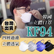 韓版KF94 口罩 魚形口罩 立體口罩 3D立體口罩 四層口罩  韓國KF94 mask 成人口罩 折疊口罩 韓國口罩